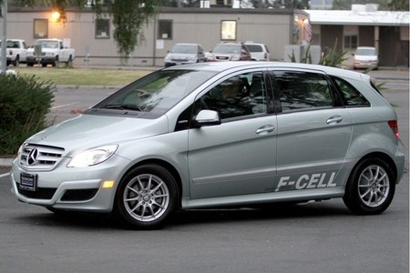 Mercedes-Benz Clase B F-Cell 10