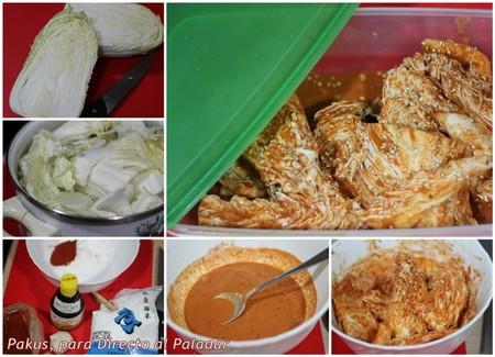 Kimchi coreano paso a paso