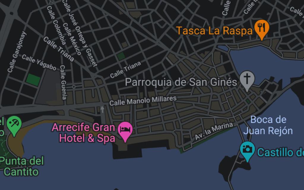 La aplicación de Google® nos avanza cómo sería el tema oscuro de Google® Maps