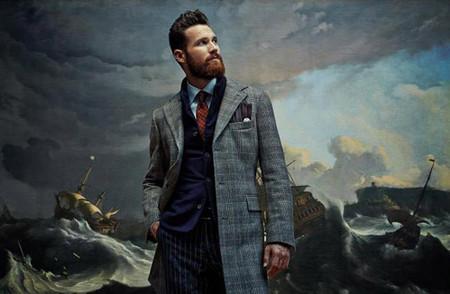 La espectacular campaña de SuitSupply realizada delante de grandes obras maestras de la pintura