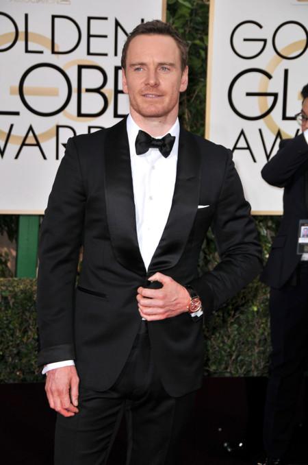 Michael Fassbender, un elegantísimo perdedor en los Globos de Oro