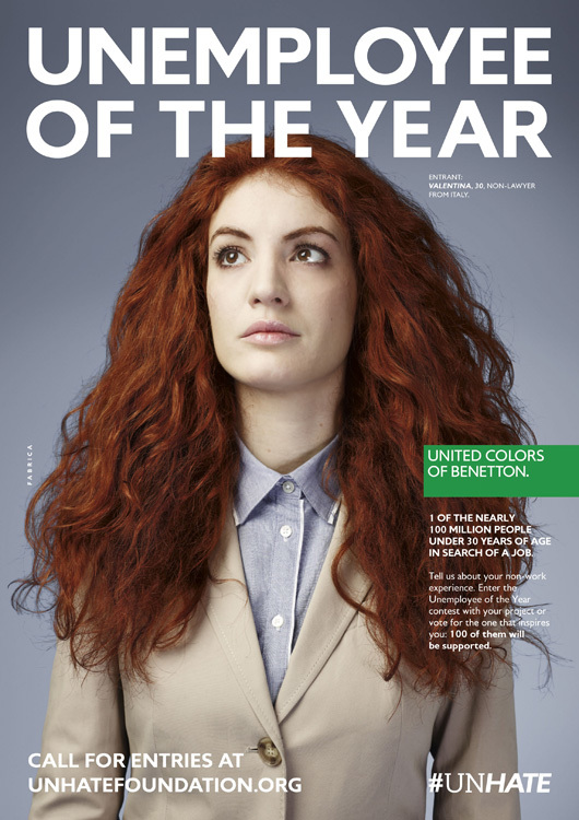 Benetton - Unemployee of the year