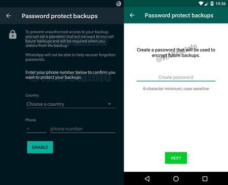 Whatsapp Copia Seguridad Password 2