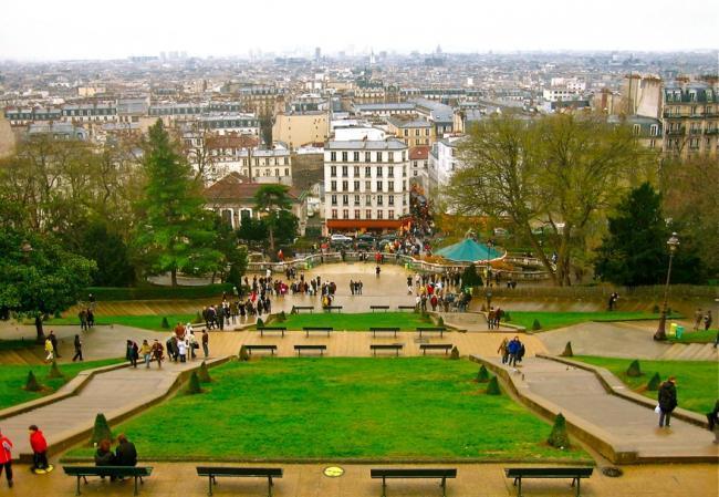 Vistas desde Montmartre