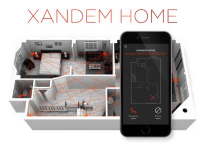 Xandem es un sistema de vigilancia basado en sensores de movimiento por radiofrecuencia