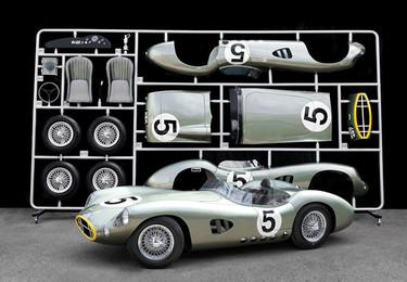 Réplica a escala 1:1 del Aston Martin DBR1