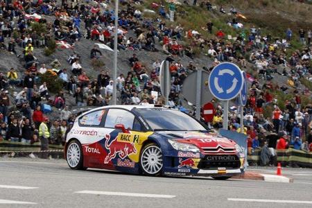 Rally de Catalunya 2010: Dani Sordo ya es tercero pero no puede con Petter Solberg