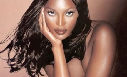 Naomi Campbell apuesta por la belleza africana
