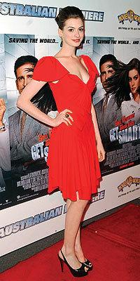 Anne Hathaway, una superagente de los más glamurosa