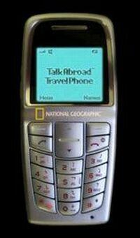 Teléfono móvil de National Geographic