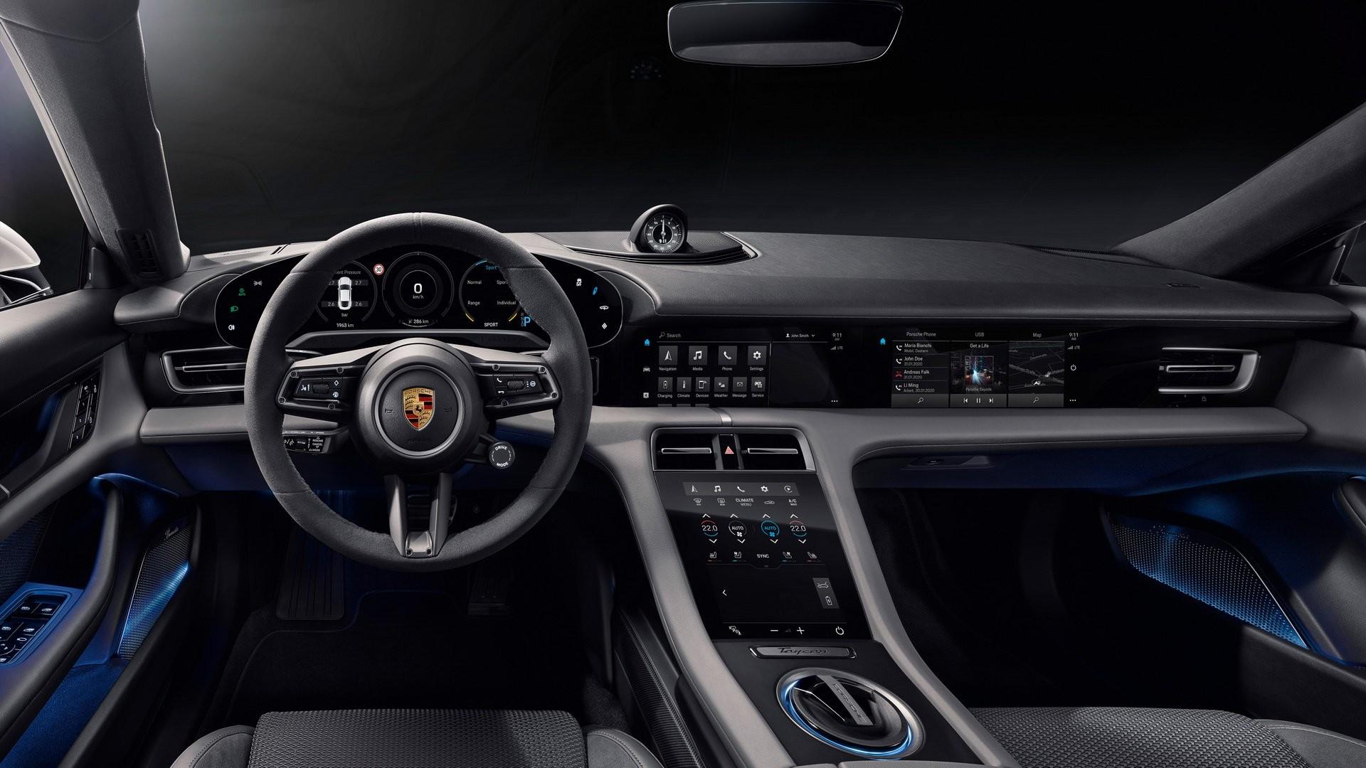 Foto de Porsche Taycan (22/29)