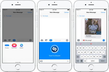 Shazam 10 1 For Ios Imessage App Iphone Screenshot 002