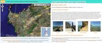 Imágenes panorámicas de Cerdeña y la Toscana