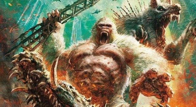 Epic Rampage Movie Japanese Poster Debuts 27