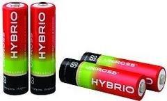 Hybrio, pilas recargables que ya vienen cargadas