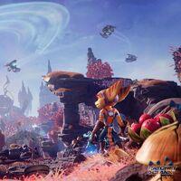 La galaxia de Ratchet & Clank: Una dimensión aparte está repleta de maravillosos planetas, tal y como muestra su nuevo tráiler