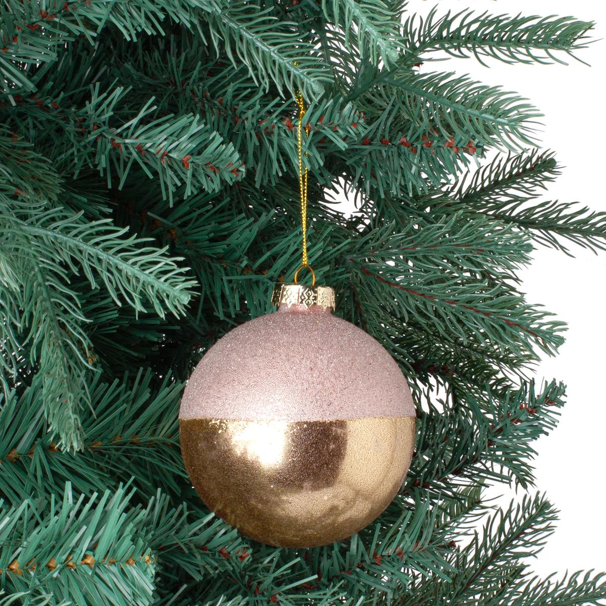 Bola de cristal efecto glitter
