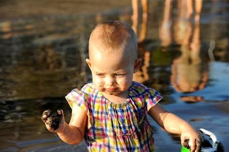 La foto de tu bebé: Carla en bajamar