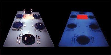 Comer en la oscuridad, otro placer