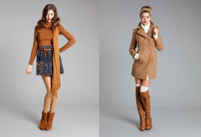 Lookbook Diciembre Stradivarius Otoño-Invierno 2010/2011: camel y marrón chocolate