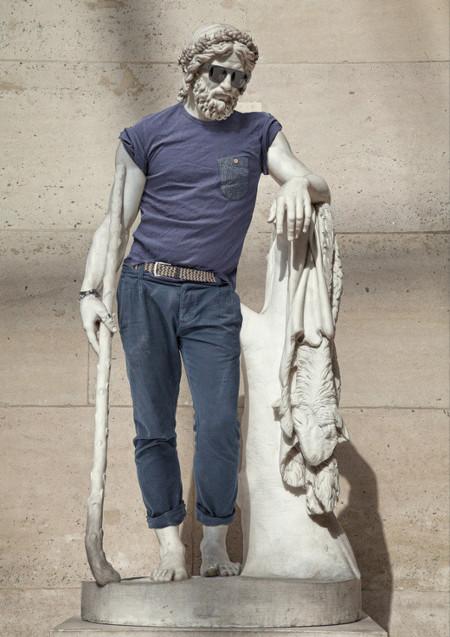 Street Stone: porque las esculturas del Louvre también quieren ser hipster