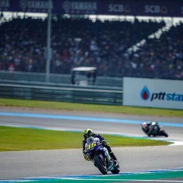 """Valentino Rossi: """"Aún no sabemos por qué fuimos rápidos en Buriram"""""""