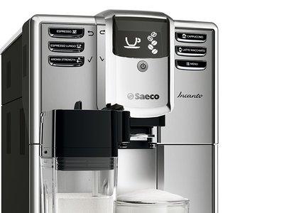 Ofertón en la maquina de café Saeco HD8917/01 con una rebaja de 235 euros, y con envío gratuito