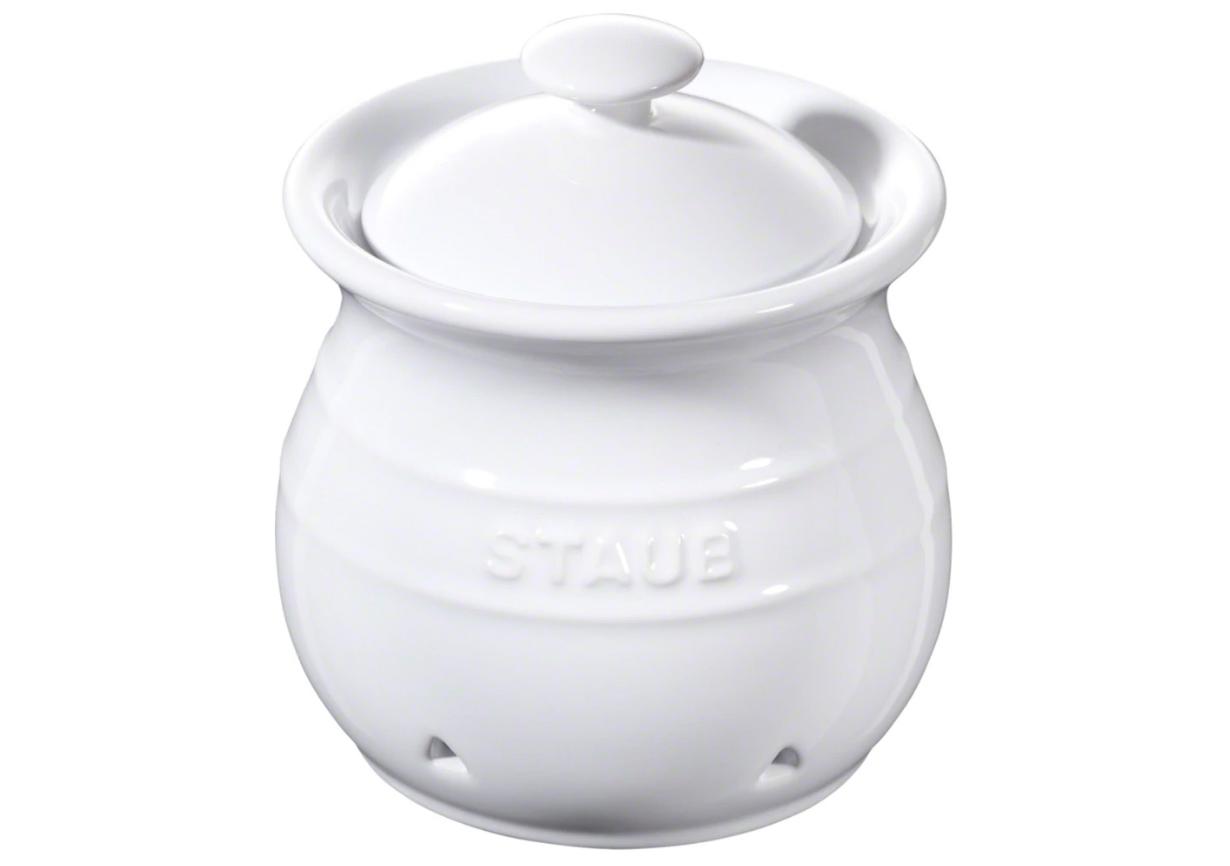 Recipiente para ajos Staub 12 cm blanco