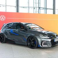 Volkswagen Golf GTE HyRACER: el agresivo híbrido de 250 CV que debería haber brillado en el frustrado Wörthersee