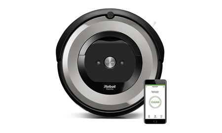 Hasta la medianoche, Amazon tiene el robot aspirador Roomba e5154 rebajado en 100 euros