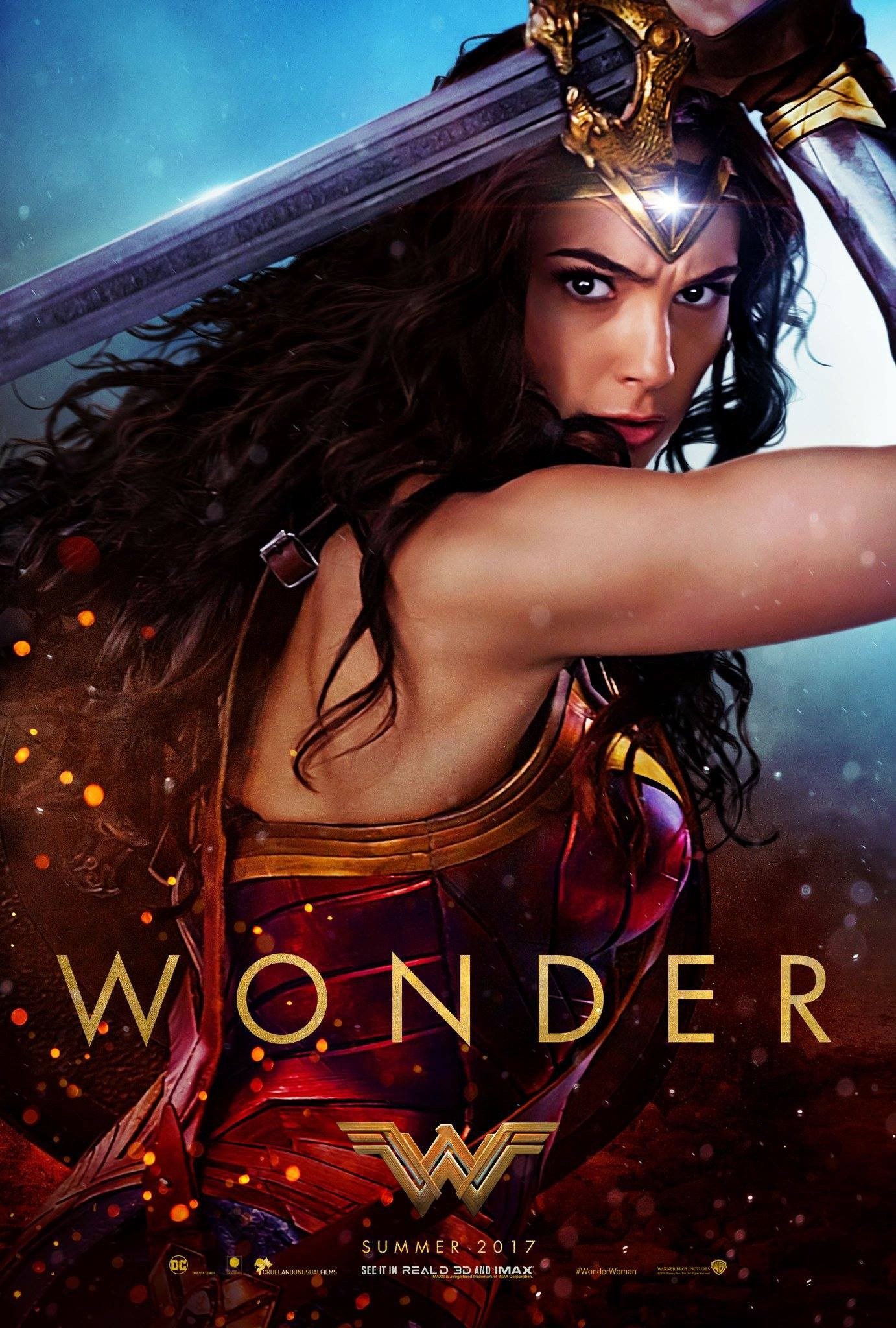 Foto de Carteles de 'Wonder Woman' (1/16)