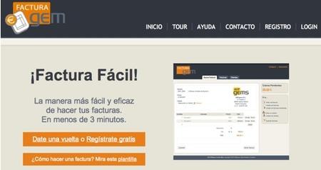 FacturaGem, servicio web de facturación