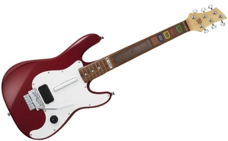 Logitech Wireless Guitar Controller, Premiere Edition para 'Guitar Hero: World Tour'