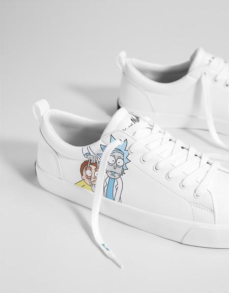 Los Fans De Rick Y Morty No Podran Dejar De Llevar Estas Zapatillas De Bershka Todo El Otono