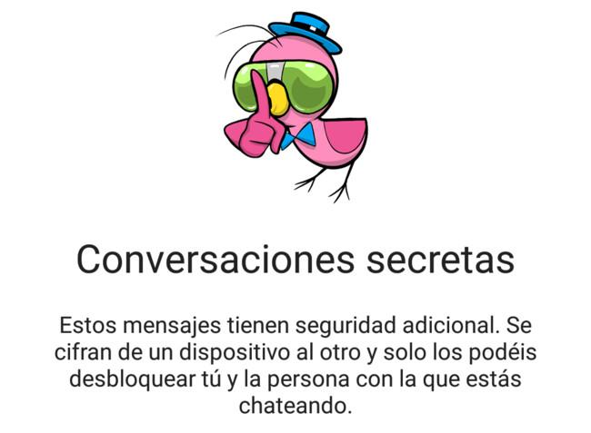 Messenger Conversaciones Secretas