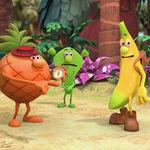 'Los fruittis' tendrán reboot: Gazpacho, Mochilo  y Pincho vuelven treinta años después con una nueva serie