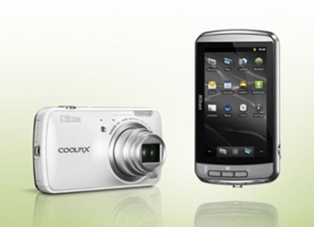 Nikon Coolpix S800c blanco general