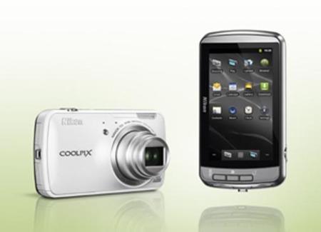 Nikon Coolpix S800c blanco general