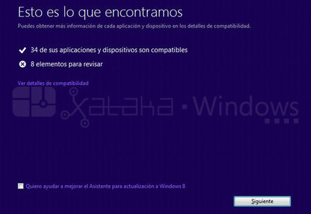 Actualización a Windows 8 Pro, compatibilidad