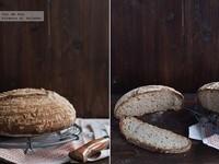 Receta de pan de pipas y masa madre
