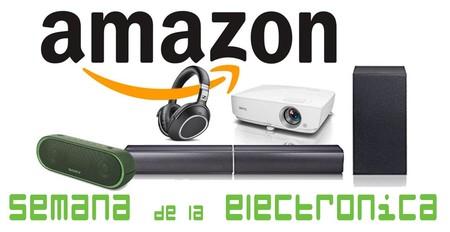 Semana de la electrónica en Amazon: 17 ofertas con los mejores precios en imagen y sonido