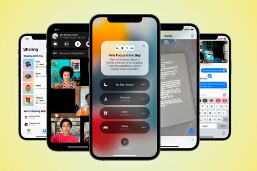 iOS 15 es oficial: la nueva versión del sistema estrena un transformado FaceTime como protagonista y añade un gran número de funciones