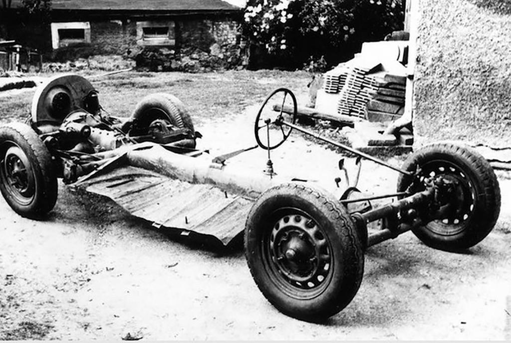 Porscheli Lindner Kübelwagen