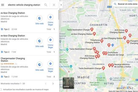 Recarga Google Maps