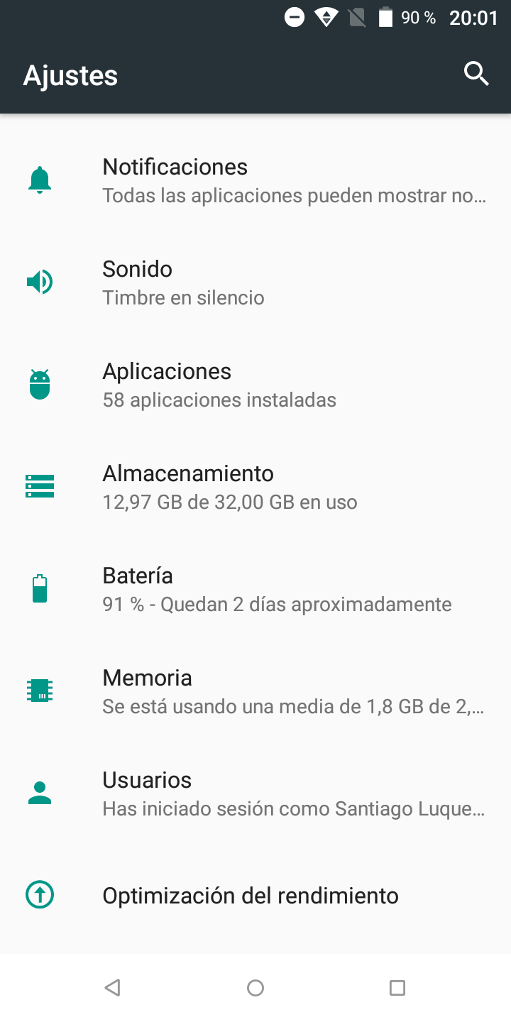 Foto de Software del Wiko VIEW (14/16)