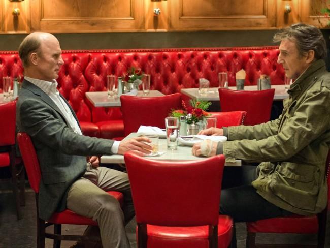 Ed Harris y Lian Neeson