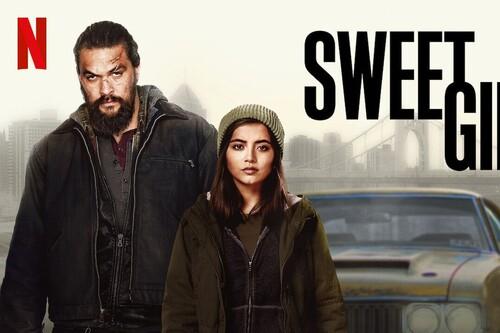 'Sweet Girl': un frenético thriller de Netflix que va de más a menos pese al convincente trabajo de Jason Momoa e Isabela Merced