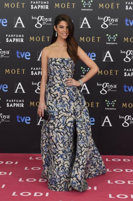 Juana Acosta en los Premios Goya 2015