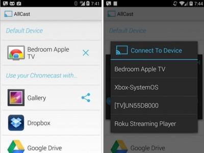 AllCast ya está en la Google Play Store