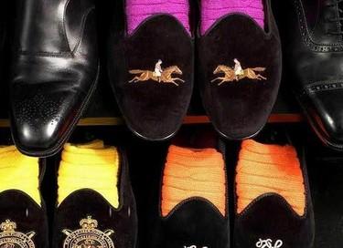 Slippers con calcetines de colores, ¿te atreves?
